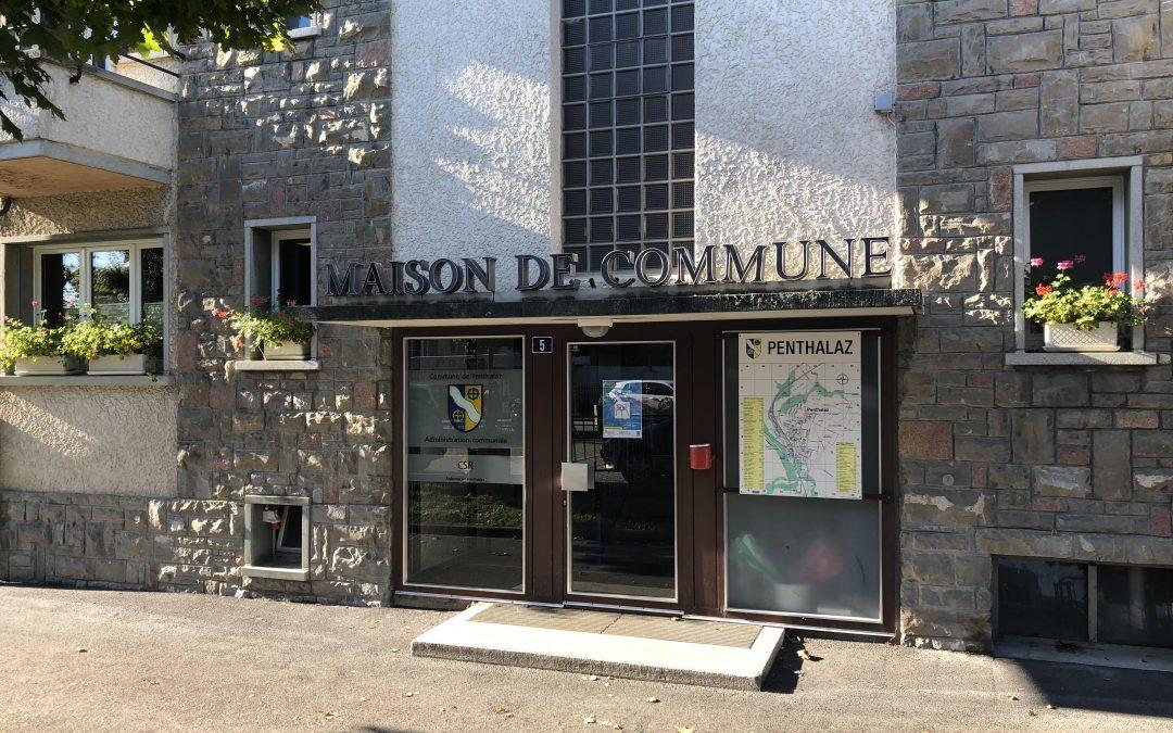 Administration communale de Penthalaz