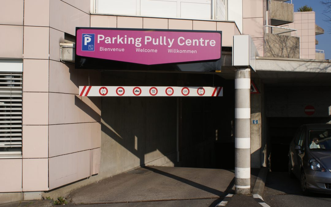 Parking Pully Centre