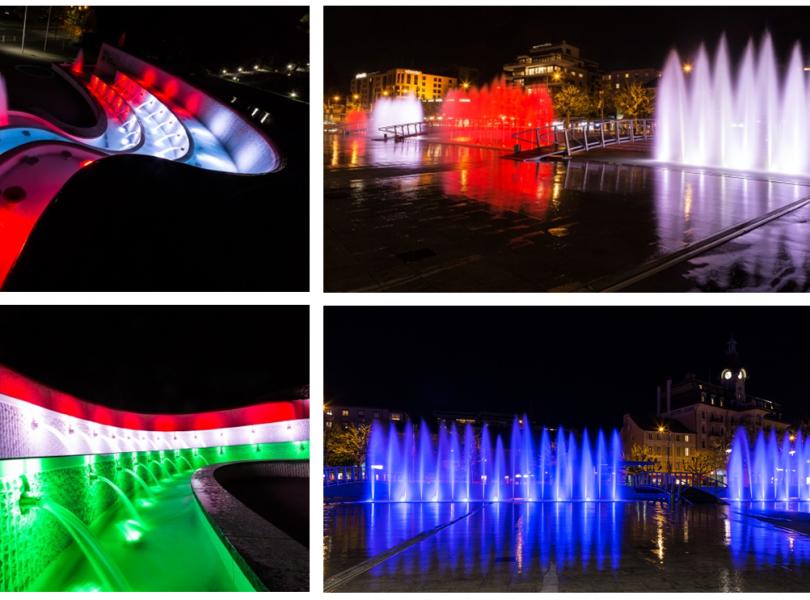 Fontaine de la navigation + Fontaine du CIO – Lausanne