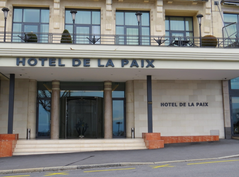 Hôtel de la Paix, Lausanne