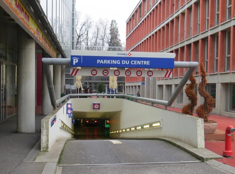 Parking du Centre et production de froid centralisée quartier Flon