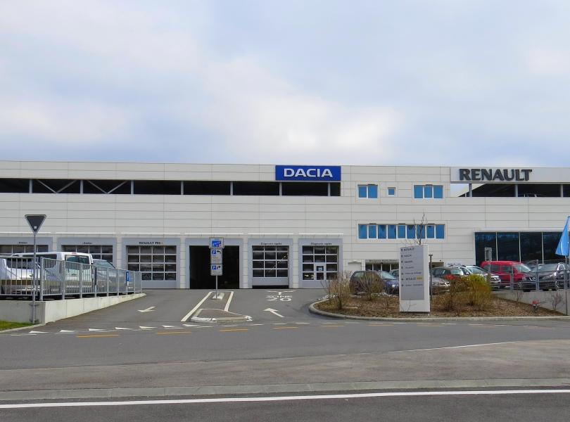 Centre automobile Ecublens RRG Léman SA